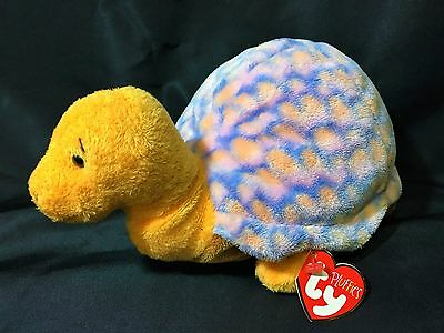 Ty Pluffies Cruiser The Turtle Bean Bag Plush Pluffy Baby