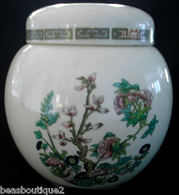 Sadler Indian Tree China Ginger Jar