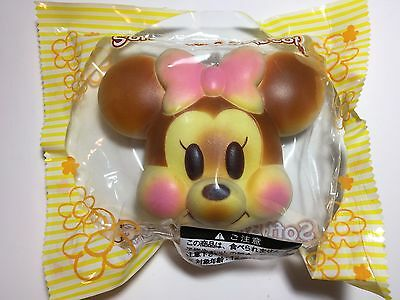 Rosy Cheeks Jumbo Baby Disney Bread Bun Squishies Minnie