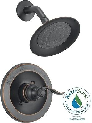 Delta Windemere 1-Handle Shower Only Faucet Trim Kit in Oil Rubbed Bronze Not