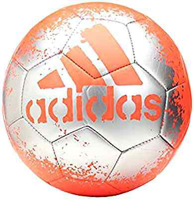 New adidas X Glider II Soccer Ball Solar Red Silver Size 5