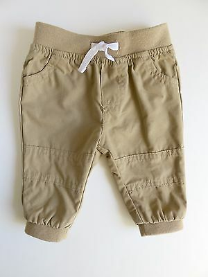 Tan Newborn Infant Baby Boy Clothes Chino Pants Multiple Sizes