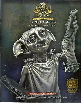 b1- Summer 2005 Noble Collection Catalog LORD of the RINGS & HARRY POTTER items