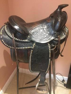 Antique Western Saddle