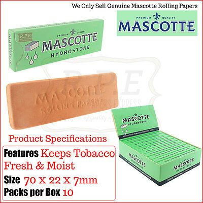 Mascotte Hydrostone Humidifier for Rolling Tobacco KEEP FRESH - Multi Listings