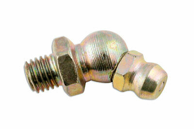 Connect 31238 45� Angle Grease Nipple 1/4 Gas BSP Pack 25