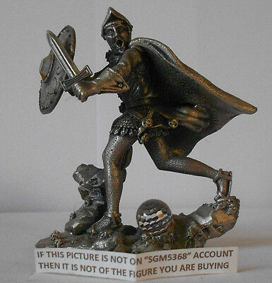 Myth And Magic Fantasy & Legend - Sir Mordred Figure By Tudor Mint Rare