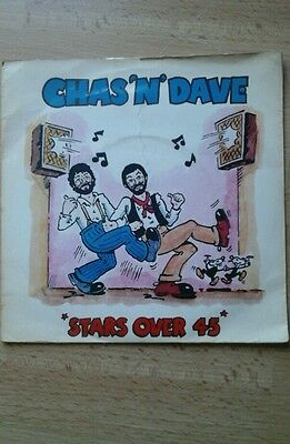 """CHAS AND DAVE Stars Over 45 7"""" Single . Vinyl Great Condition (Kor12)"""