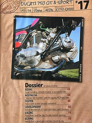 Ducati 750 Gt / Sport # 1971 - 74 Models # 14 Page Original Motorcycle Article