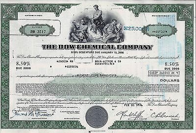 The Dow Chemical Company, 8,5% Debenture due 2006, 1976 (25.000 $)