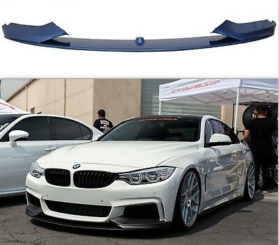 Bmw 3 Series F32 Front Diffuser Performance Splitter Lip Spoiler M Sport