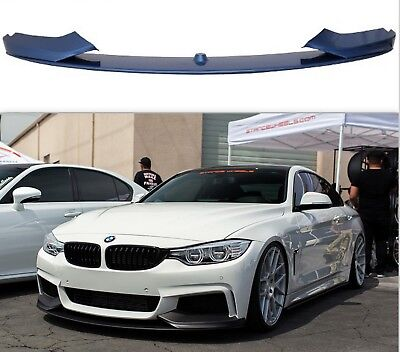 Bmw 4 Series F32 F33 F36 Front Performance Splitter Lip Spoiler Diffuser Abs
