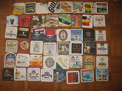 lotto sottobicchieri di birra beer coasters from