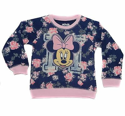 New Girl's Disney Minnie Mouse Long Sleeve Shirt 12 months - 5T