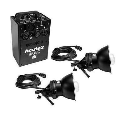 Profoto Acute 2 2400ws ProFoto Power Pack With 2 Acute 2 Power Pack Flash Heads