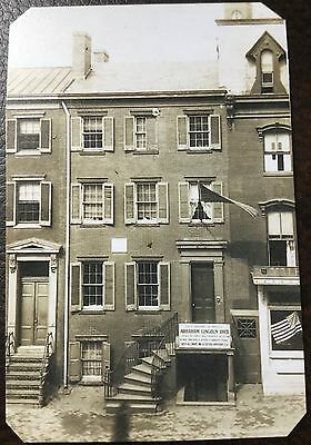 """Abraham Lincoln"""" Scarce TinType of Peterson House """" C041NP"""