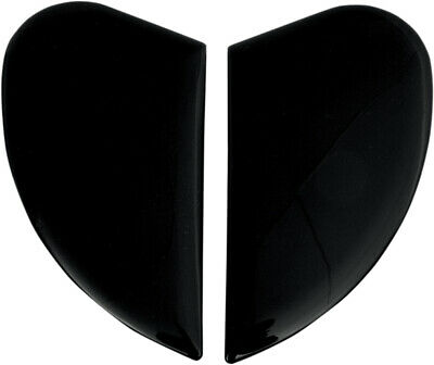 ICON Genuine Replacement Sideplates for Airmada Helmet (Black)