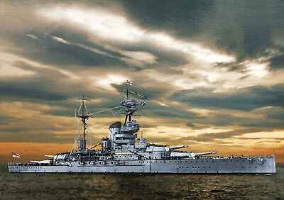 Hms Resolution - Hand Finished, Limited Edition (25)