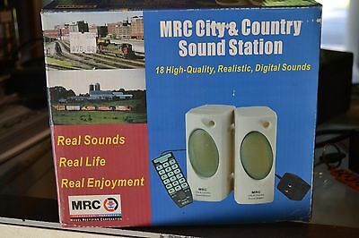 MRC AA552 City and Country Sound Station - NEW