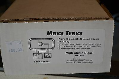 QS Industries Maxxx Traxx MTX-602 Multi Chime Diesel - NEW