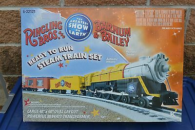 K-Line by Lionel 6-22121 Ringling Bros. Barnum & Bailey O Train Exp Pack/Cars