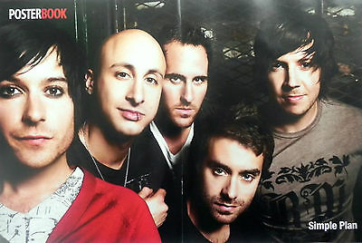 Simple Plan French-Canadian rock band from Montréal, Québec & Lady Gaga POSTER