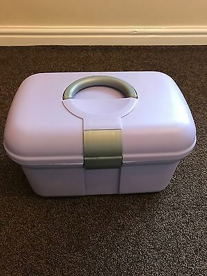 Curver Baby Toiletries Box With Removable Shelf Used Pristine Condition Unisex