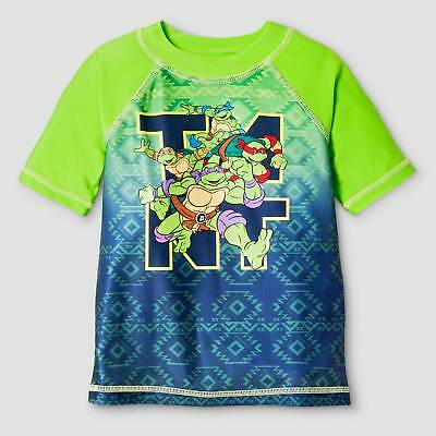 Toddler Boys' Teenage Mutant Ninja Turtles® Short-Sleeve Rash Guard - Green