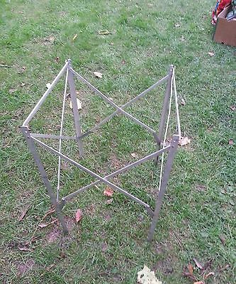 Vintage Coleman Folding Campstoves Cooler Stove Stand RV Camping