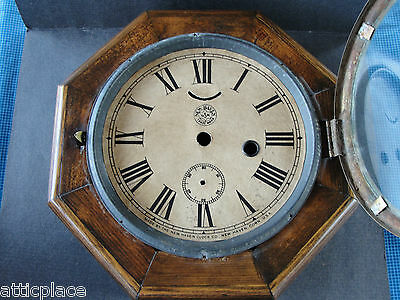 Antique New Haven Marine Clock Case