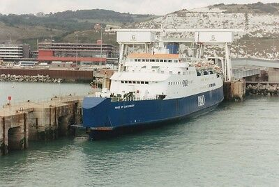 Car Ferry photo P&O Pride of Canterbury cross Channel boat ship at Dover