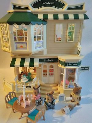 Sylvanian Families Boxed John Lewis Department Store With Accessories Brambles