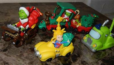 DR. SUESS HOW THE GRINCH STOLE CHRISTMAS ltd 2000 UNIVERSAL SLED TOY CAR PLAYSET