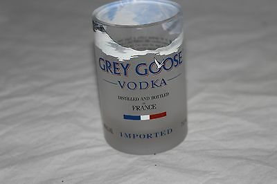 Grey Goose Glass From Recycled Bottle