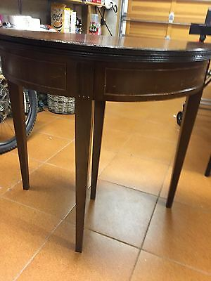 Antique/Rosewood Card Table