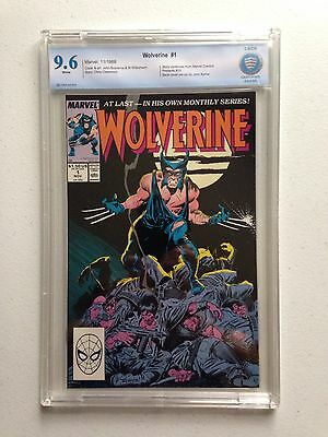Wolverine #1 CBCS 9.6 (Marver, 1988) 1st Wolverine as Patch