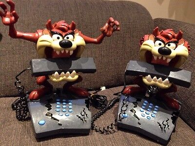 Tasmanian Devil Telephone (s) Looney Tunes Animated | Spares & Repairs (x2)