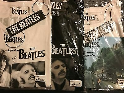 140x THE BEATLES OFFICIAL OVERSIZED WOMENS T SHIRTS - WHOLESALE JOB LOT