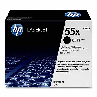MOSTLY NEW Genuine Original HP 55X Laser Cartridge 80% Toner Remaining CE255X