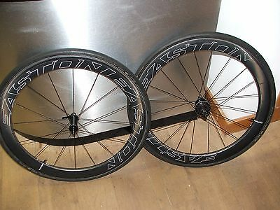 2016 Easton EC90 Aero 55 Carbon Road Bike Wheels (Shimano/SRAM) Pair