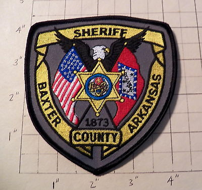 Baxter County (Mountain Home,AR) Sheriff's Office Patch  -  1873       ***NEW***
