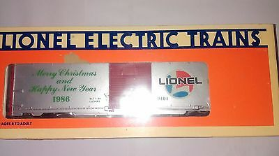 Lionel 6-9491 CHRISTMAS BOXCAR - 1986 - GREAT GIFT IDEA - NEW IN BOX