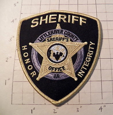 Little River County (Ashdown,AR) Sheriff's Office Patch           ***NEW***