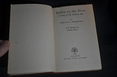 1943 *1ST/2ND* Return to the River by Roderick L Haig-Brown