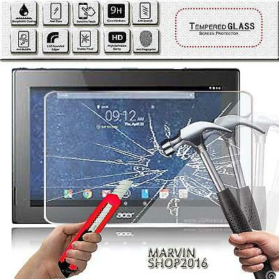 Real Tempered Glass Film Screen Protector For Acer Iconia Tab 10 A3-A30 10.1""