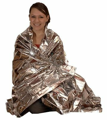 Emergency Survival Lightweight Ultralight Compact Mylar Blanket for Bug Out Bag