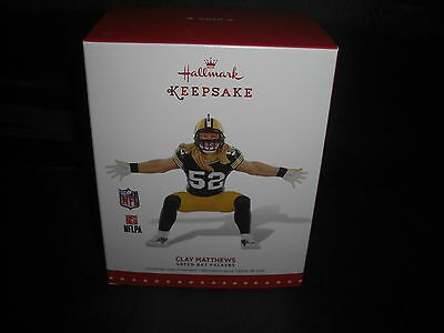 2015 Hallmark Clay Matthews-Green Bay Packers