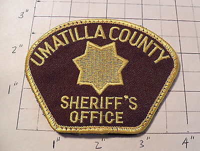 Umatilla County (OR) Sheriff's Office Patch