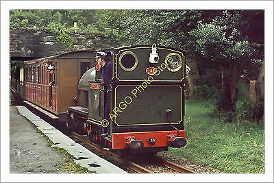 ra 013 Rheilffordd Talyllan Railway loco 0-4-2ST Edward Thomas engine photo
