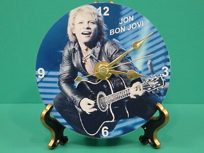 JON BON JOVI - Photo - Designer Collectible GIFT Clock